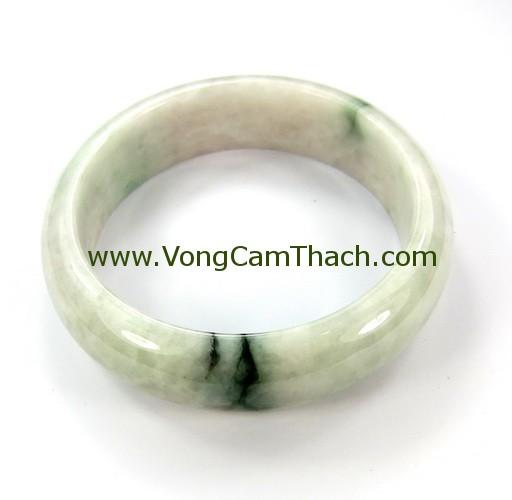 51111001278 Vòng Tay Cẩm Thạch Chạm Khắc   VTCK02