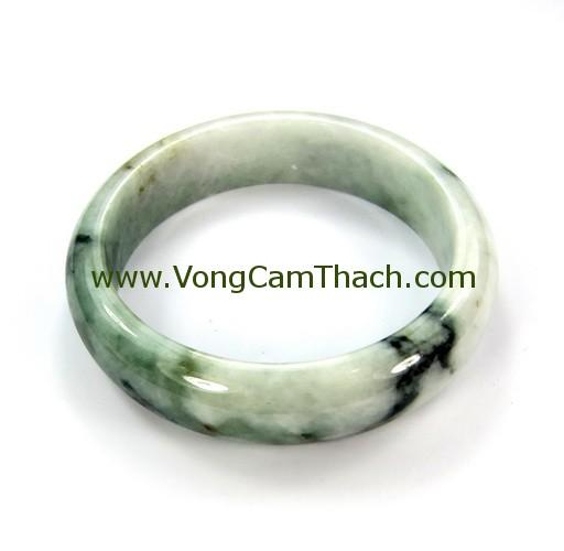 51111001301 Vòng Tay Cẩm Thạch Tròn   VCTT34