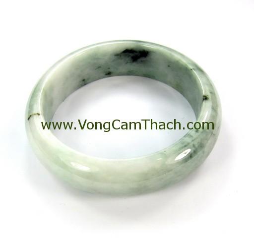 51111001302 Vòng Tay Cẩm Thạch Tròn   VCTT33