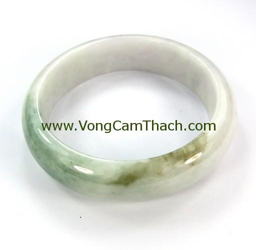 51111001311 Vòng Tay Cẩm Thạch Tròn   VCTT25