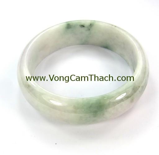 51111001315 Vòng Tay Cẩm Thạch Tròn   VCTT21