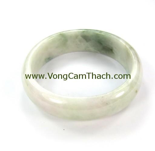 51111001325 Vòng Tay Cẩm Thạch Tròn   VCTT11