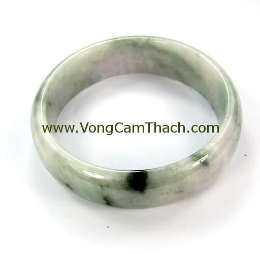 51111001326 Vòng Tay Cẩm Thạch Tròn   VCTT10