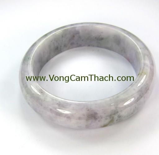 51111001340 Vòng Tay Cẩm Thạch Tròn   VCTT06