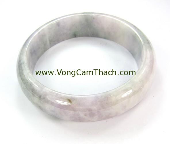 51111001341 Vòng Tay Cẩm Thạch Tròn   VCTT05