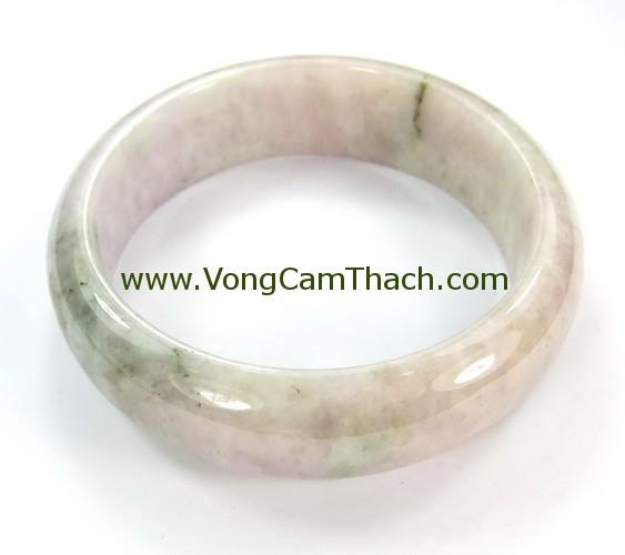 51111001345 Vòng Tay Cẩm Thạch Tròn   VCTT01